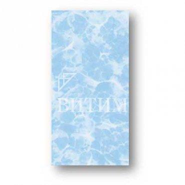 Панель ПВХ термопечать «Блики голубые»