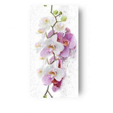 Панель ПВХ термопечать «Букет орхидей»
