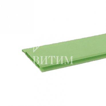 Панель ПВХ салатовая 3000х100х10