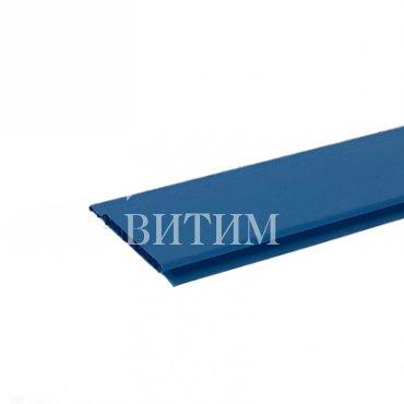 Панель ПВХ синяя 3000х100х10