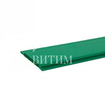 Панель ПВХ зелёная 3000х100х10