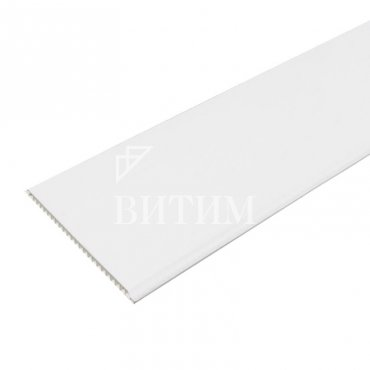 Панель ПВХ белая матовая 250х3000х8