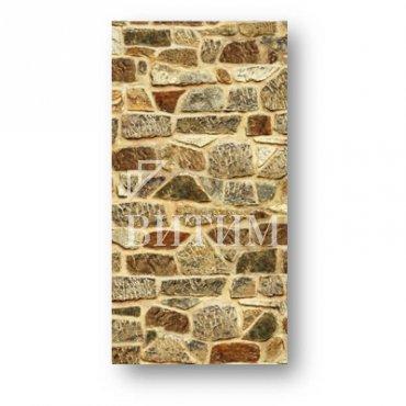 Панель ПВХ термопечать «Каменная кладка»